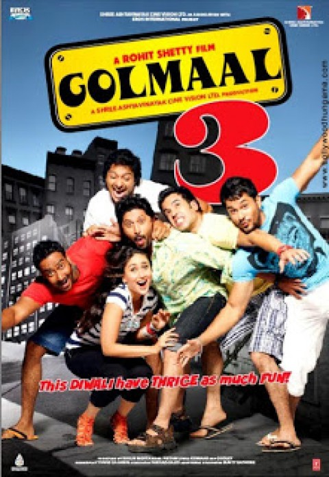 Golmaal 3 – Or should I say Tod Maal?