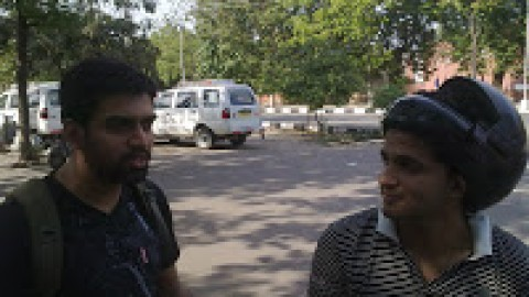 Vivek was here!!