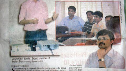Media Coverage for Goa Communication Workshop
