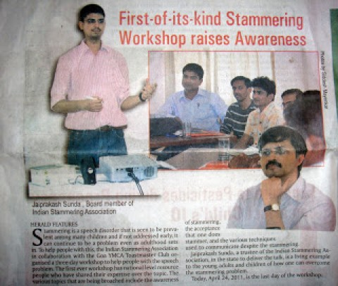Media Coverage for Goa Communication Workshop