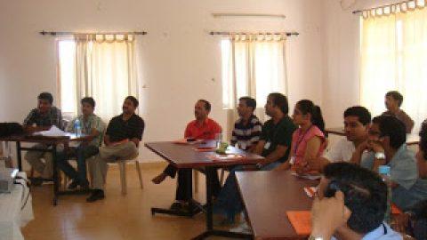 Goa Workshop – Day 1