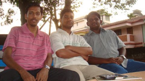 The Three Musketeers (Goa SHG Meet, 1st May 2011)