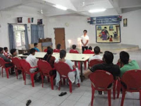 Herbertpur SHG meeting