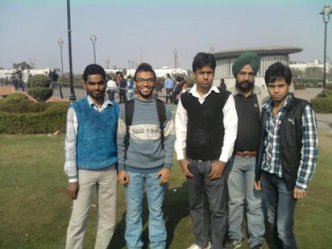 Delhi SHG welcomes Nitin, Prabhat and Vikas….