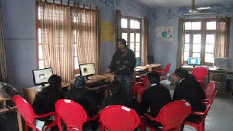 SHG meeting at Herbutpur  on Sunday , 19 Feb 2012