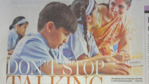 An Article About Stammering