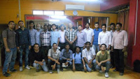 Pics @ TISA's Communication Workshop , Hyderabad