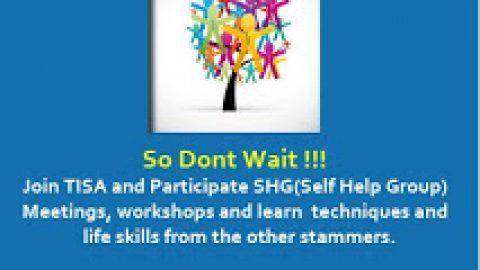 Banner for Stammering awareness !!!!!