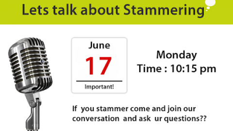 StammerFreely is going to be Live(on air) on 17th june at 10:15 pm