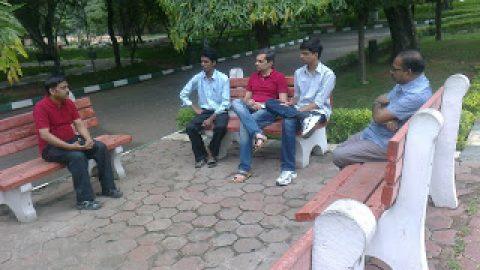 JP at Chennai SHG meeting