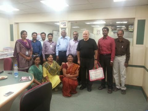 Attended Dr.Martin Schwartz lecture at Chennai