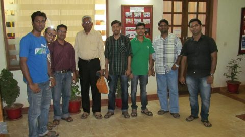 Meeting with Mani Sir