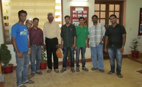 Meeting with Mani Sir