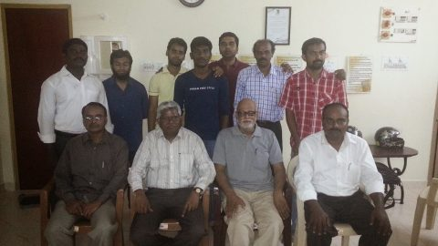 Dr.Sachin at Chennai SHG meeting