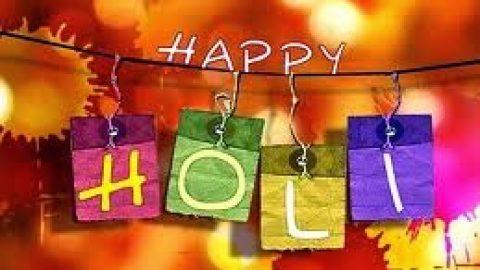 Happy Holi . . .