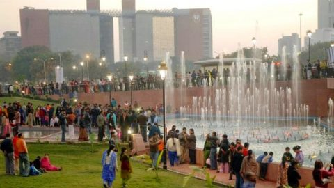 Delhi SHG Meeting at Central Park ( winter has come !!!! not at all miss any meeting now)