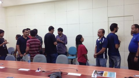 IIT Mumbai First meet takes off..