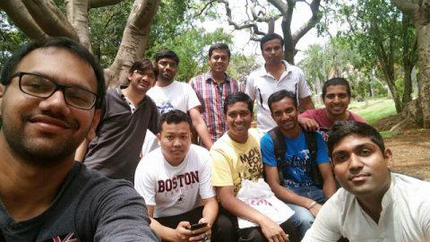 Lal Bagh ke Sher Bangalore SHG Meeting on 17-May-2015. POSTED BY Reuben Lopes