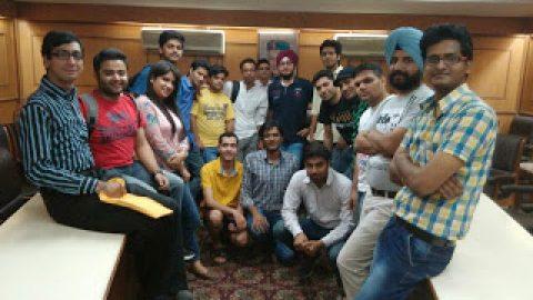 Delhi First Indoor Meeting Pictures