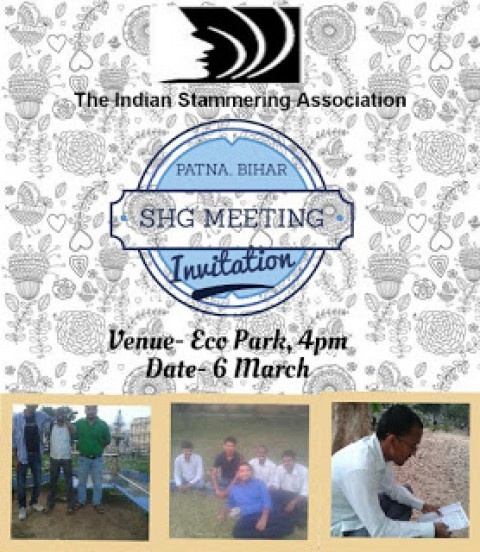 Patna, Bihar SHG Meeting Invitation 6 March 2016