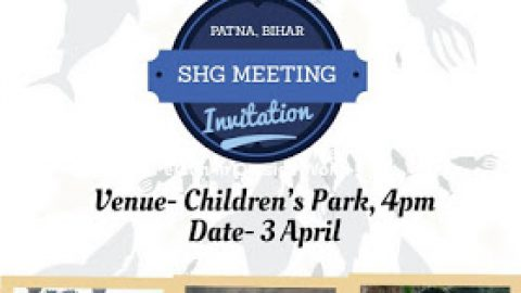 Invitation for Patna Bihar SHG Meeting 3 April