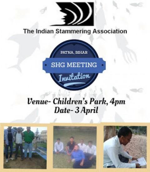 Invitation for Patna Bihar SHG Meeting 3 April