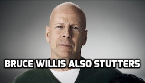 Roleplay and dramas has helped Bruce Willis to overcome stammering