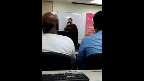 """Toastmaster V-V-V-Vishal gave his first ever humurous speech on the topic """"Funniest Moment of a PWS"""" and won the contest"""