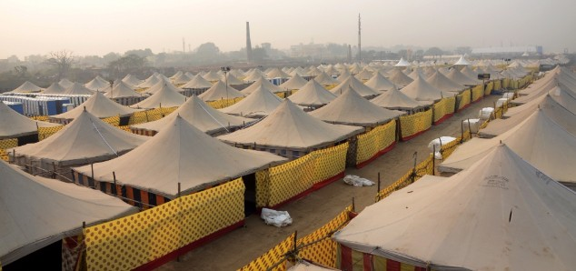 Tent City, Gandhi Maidan