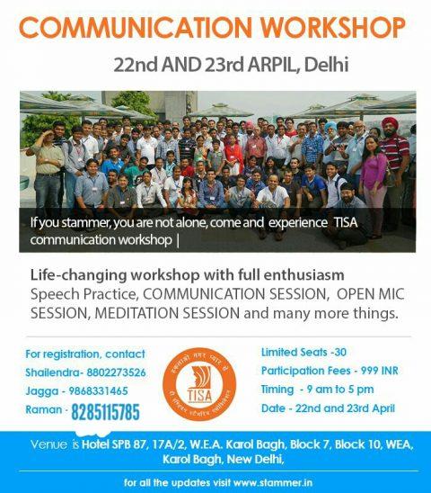 Delhi Workshop 22-23 April 2017