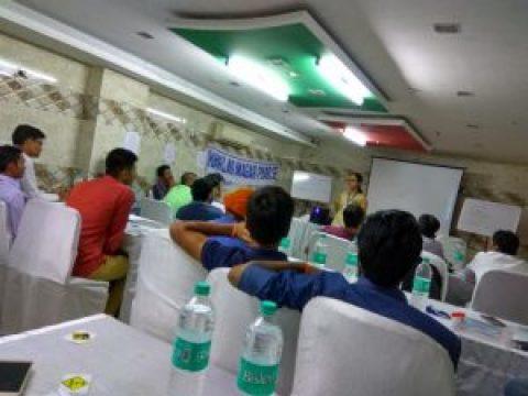 दिल्ली संचार कार्यशाला: एक कदम सपनों को हकीकत में बदलने की ओर . . .