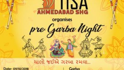 Pre-Garba night with Ahmedabad SHG