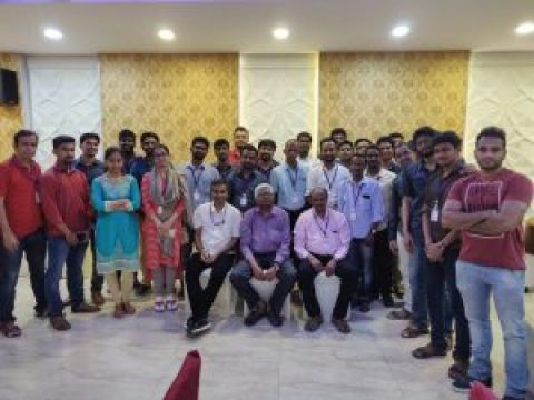 Me and Chennai Communication Workshop
