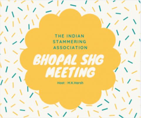 Bhopal SHG meeting report.