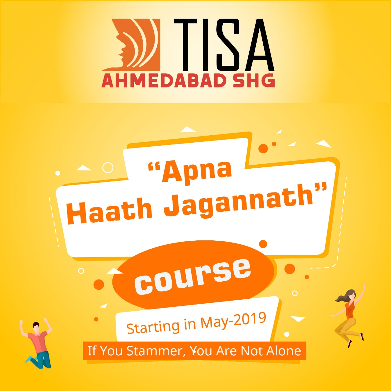 "Ahmedabad SHG Presents ""Apna Haath Jagannath"" Course"